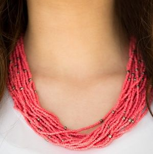 Summer samba 🧡 necklace set